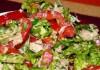 диетический салат с тунцом фото