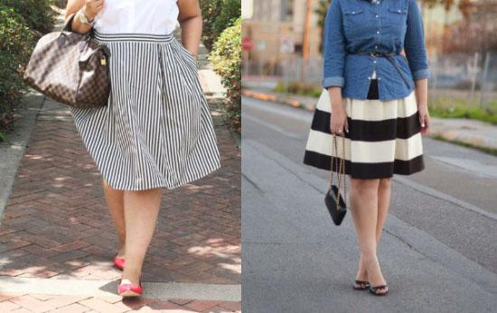 Фото полные ноги в разных юбках