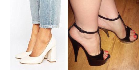 Фото полные ногу и туфли