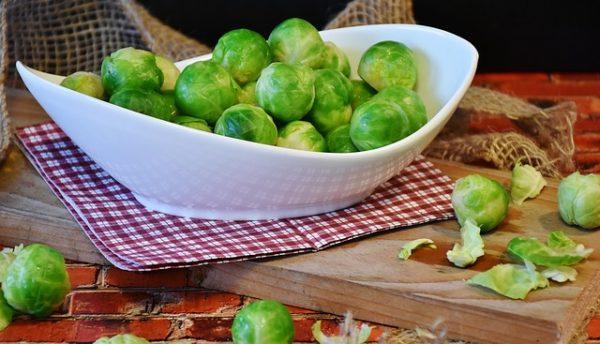 диетическое блюдо из брюссельской капусты фото