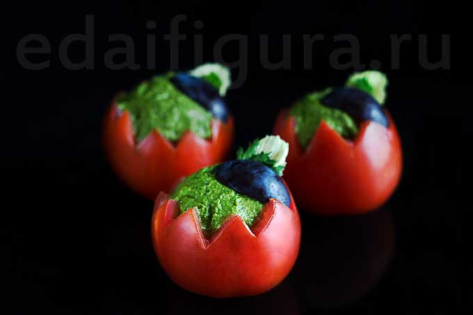 фото Фаршированные помидоры