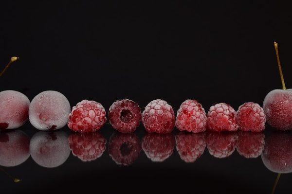 фото как заморозить ягоды