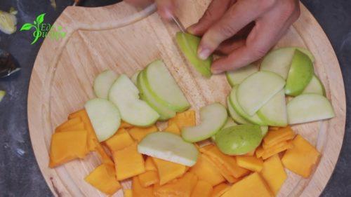 галета с тыквой и яблоком фото