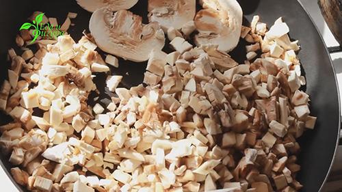 гречка с грибами фото
