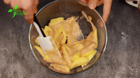 фото картофель фри в духовке 3