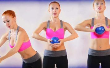 фото упражнения для груди