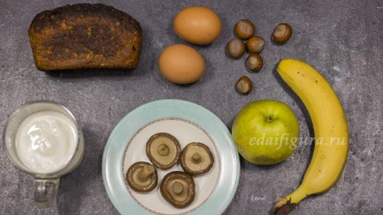 завтрак из хлеба фото ингредиентов