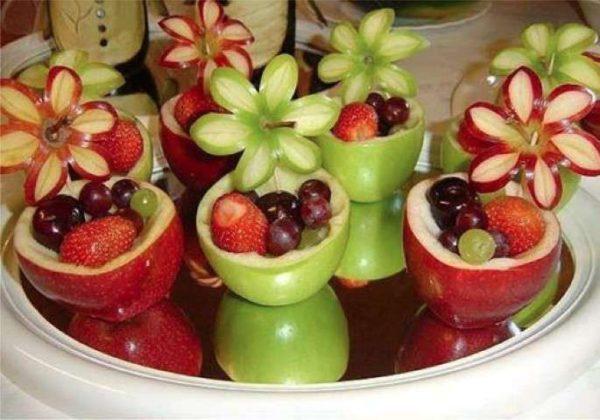 фруктовая терелка