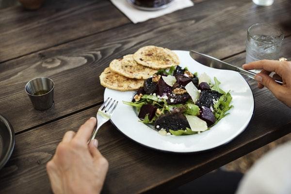 поправлюсь если брошу курить фото тарелки с салатом
