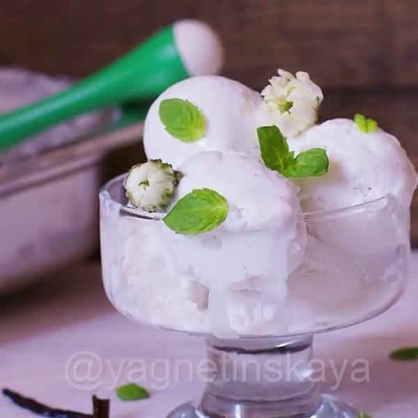 домашнее мороженое фото