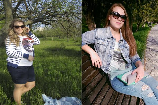похудеть на 20 кг фото Юлии Коноваловой до и после