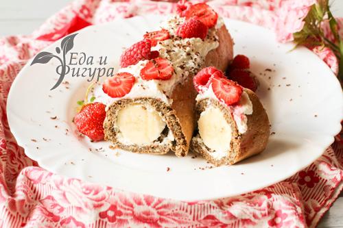 диетический десерт фото