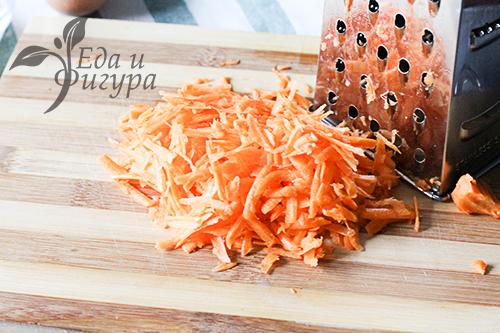 Морковные маффины фото