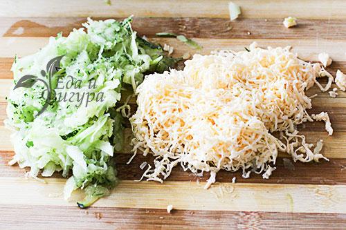 Кабачковые оладьи с сыром фото