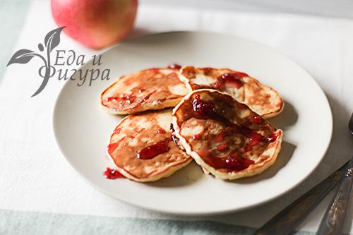 Яблочные ПП-Оладьи фото