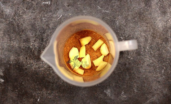 тушеная тыква фото специй чеснока и имбиря