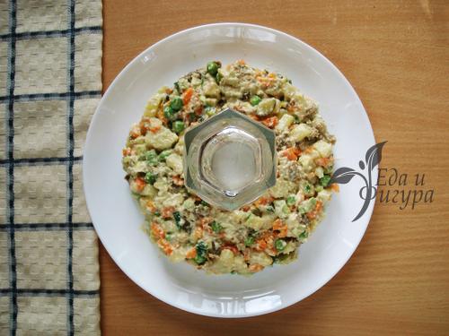как украсить салат фото