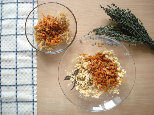 нутовый пирог фото приготовленных моркови, капусты и нута