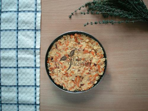 нутовый пирог фото пирога перед выпечкой