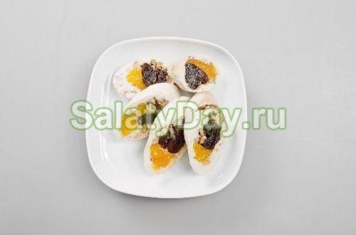 блюда из мандаринов фото
