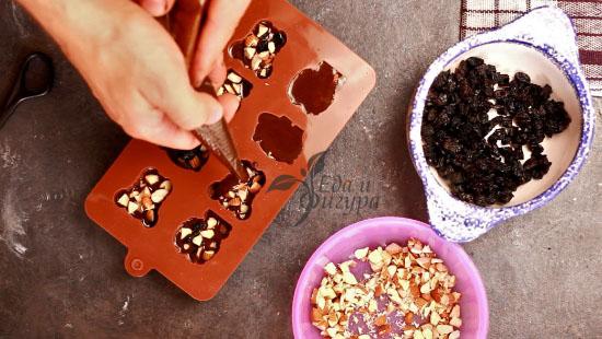 конфеты из кэроба финальная заливка шоколада