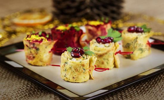 рецепты новогодних закусок фото