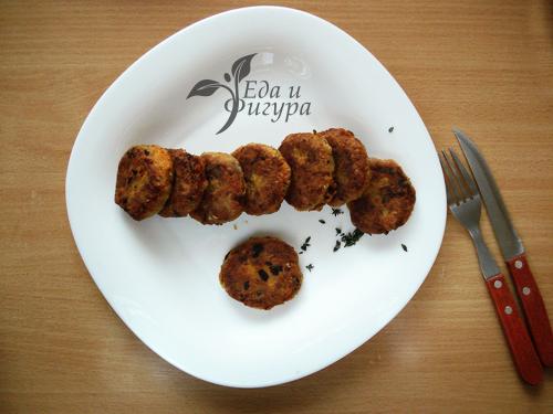 чечевичные котлеты фото готового блюда