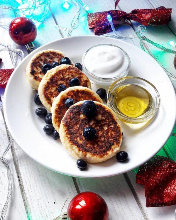 полезный завтрак фото сырников