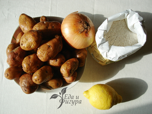 картофельный пирог фото ингредиентов для пирога