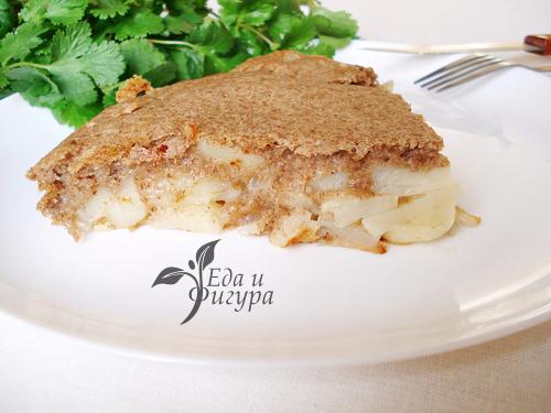 картофельный пирог фото картофельного пирога