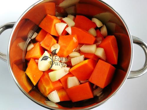 крем-суп из тыквы фото тыквы и лука