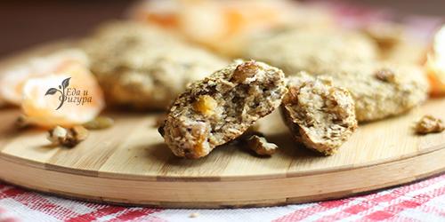 диетическое овсяное печенье фото готового печенья