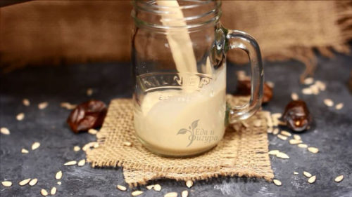 растительное молоко фото молока из семечек подсолнуха