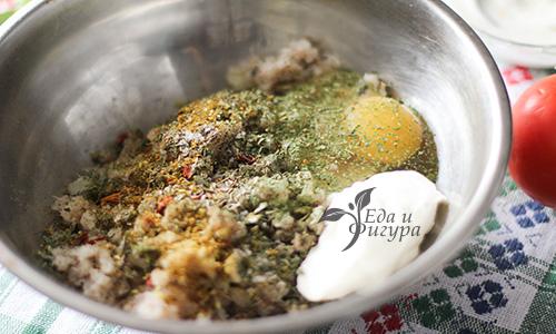 рыбные котлеты с овощами фото фарша, яиц и йогурта