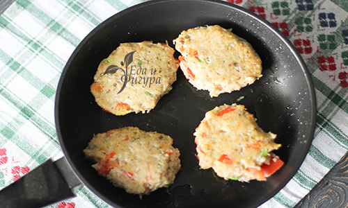рыбные котлеты с овощами фото готовых котлет на сковороде