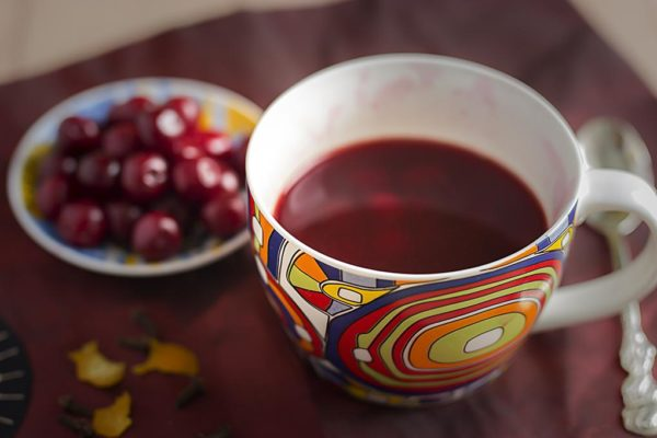 вишневый чай фото вишневого чая
