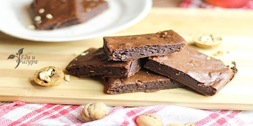 шоколадный брауни фото готового шоколадного брауни