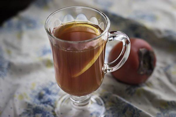 чай с хурмой фото чая с хурмой