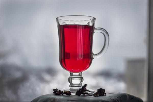 чай каркаде фото чая каркаде