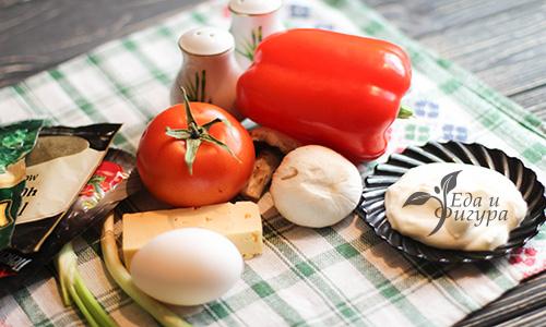 завтрак в чашке фото ингредиентов для блюда
