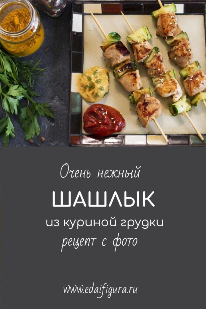 шашлык из куриной грудки фото готового блюда