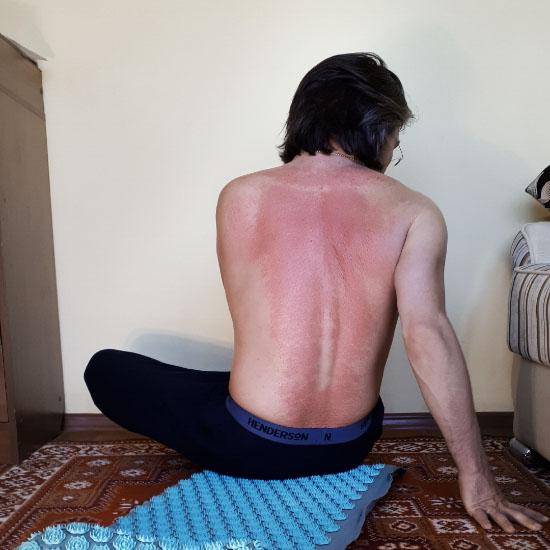 фото человека снимающего стресс