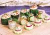 фото закуска из свежих огурцов