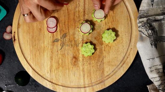 фото огурцов и редиски нарезанных для закуски