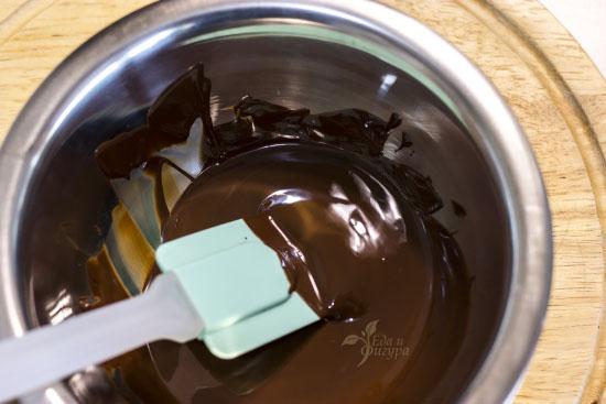 фото растопленного шоколада