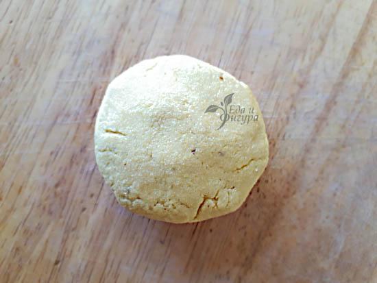 фото теста без глютена для сухариков