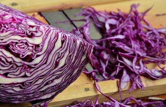 фото краснокочанной капусты
