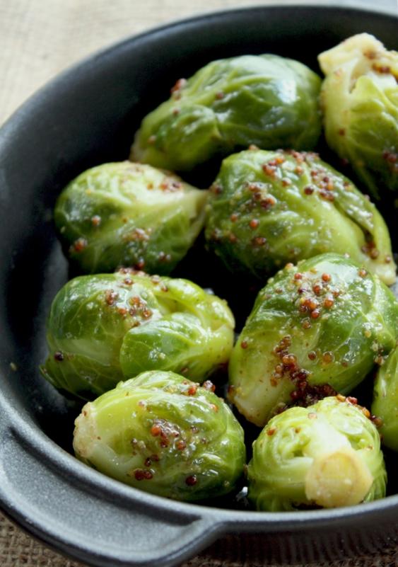 диетическое блюдо из брюссельской капустой