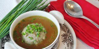 фото диетический суп с фрикадельками