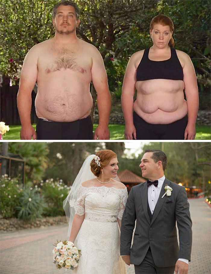 истории похудения с фото до и после